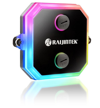 Raijintek Intros CWB-RGB CPU Water Block with Addressable RGB LED Lighting