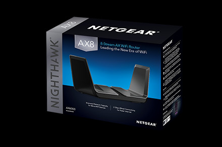 NETGEAR Introduces the Nighthawk AX8 WiFi Router - The New Era of
