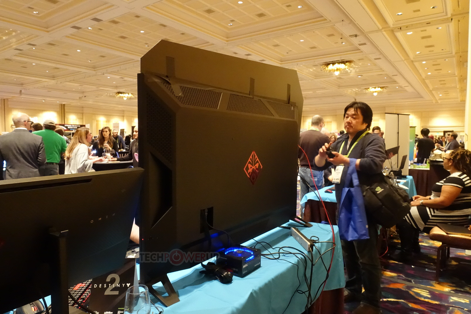 HP Omen X 65 Big Format Gaming Display (BFGD) Pictured | TechPowerUp