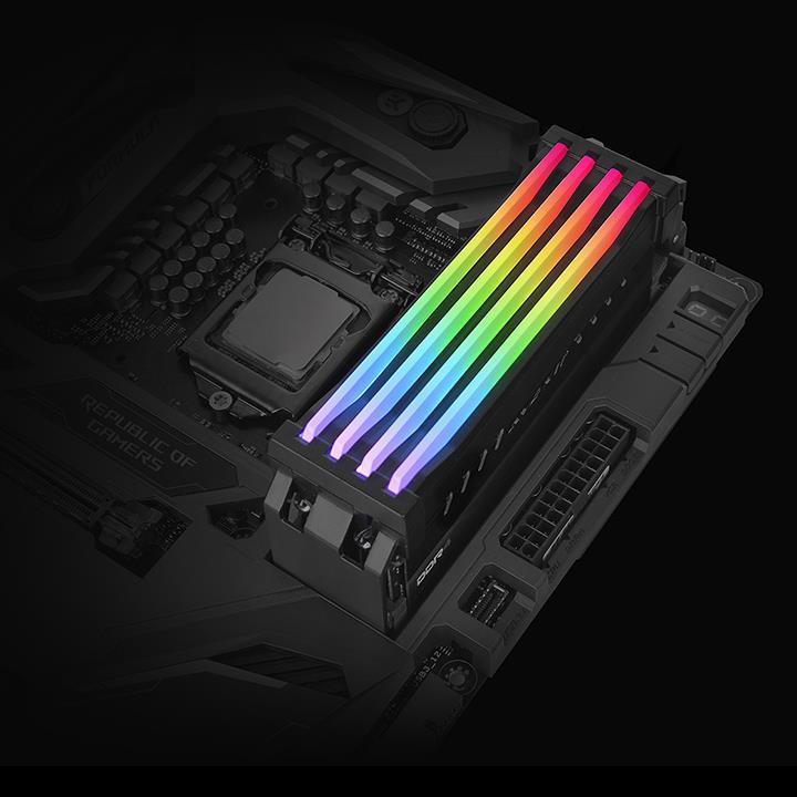 Thermaltake Pacific R1 Plus Memory Lighting A Smarter