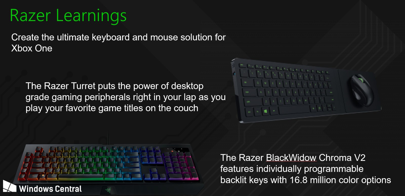 Microsoft And Razer Collaborating On New Gaming Keyboards And Mice For Xbox Techpowerup
