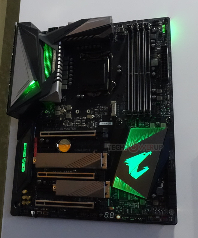 Gigabyte Z390 Motherboards and GeForce RTX Graphics Cards on