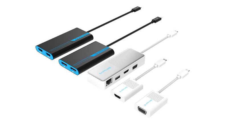 Sapphire Thunderbolt 3 and USB-C Accessories Now Available