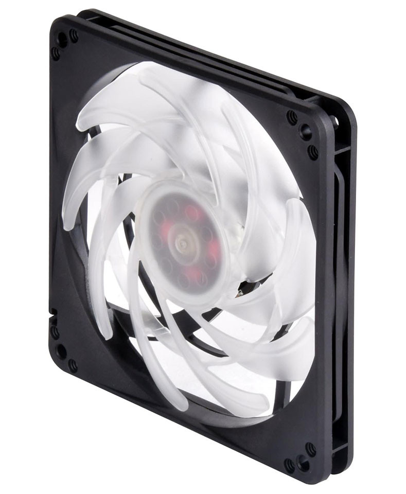 Silverstone Intros Fw124 Argb Slimline 120mm Fan Techpowerup