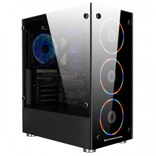XIGMATEK Intros the Glaive Mid-tower Case | TechPowerUp