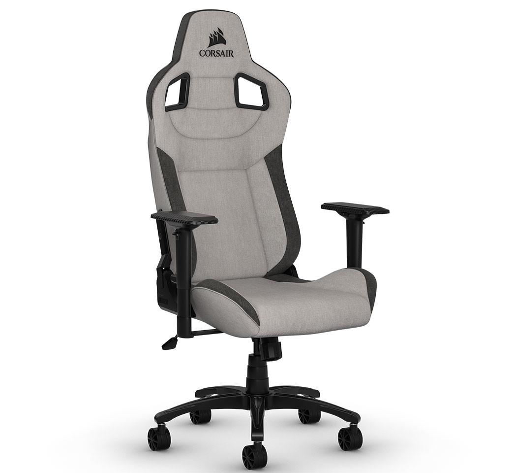 Phenomenal Corsair Launches T3 Rush Gaming Chair Techpowerup Ibusinesslaw Wood Chair Design Ideas Ibusinesslaworg