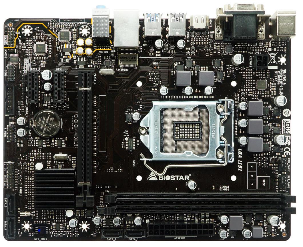 T series motherboard biostar driver