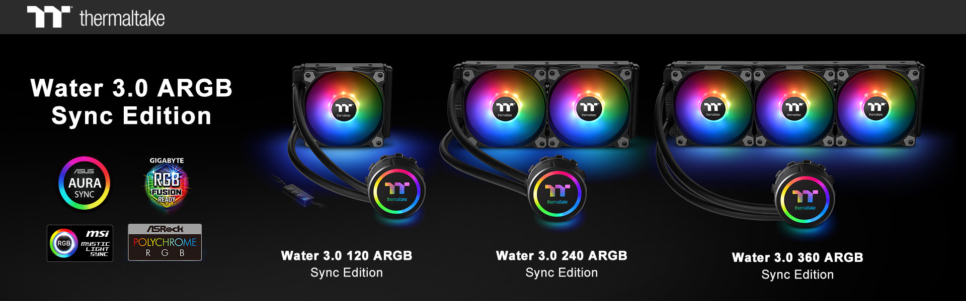 Thermaltake Announces New Watercooling Lineup With Water 3 0