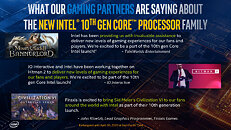 Gaming Partners about Intel 10th Gen