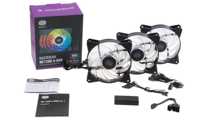 Cooler Master Offers New 120 mm & 140 mm Addressable RGB MasterFan