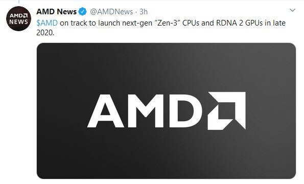 Amd Confirms Zen 3 And Rdna2 By Late 2020 Techpowerup