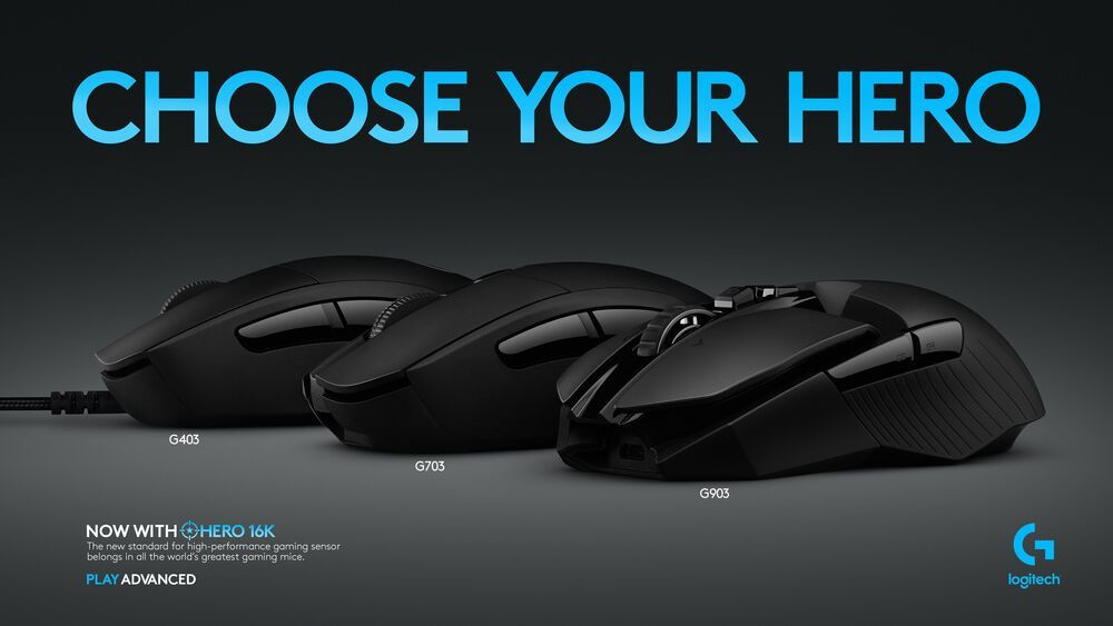 Logitech G Expands HERO 16K Sensor to New Line-Up of Gaming
