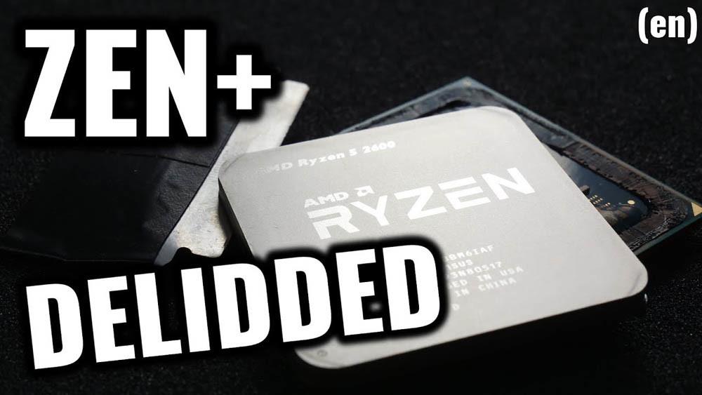 Pro Overclocker der8auer Delids the AMD Ryzen 5 2600