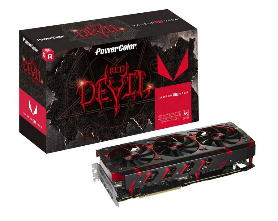 PowerColor Radeon RX Vega 64 Red Devil Available Soon, Overclocked