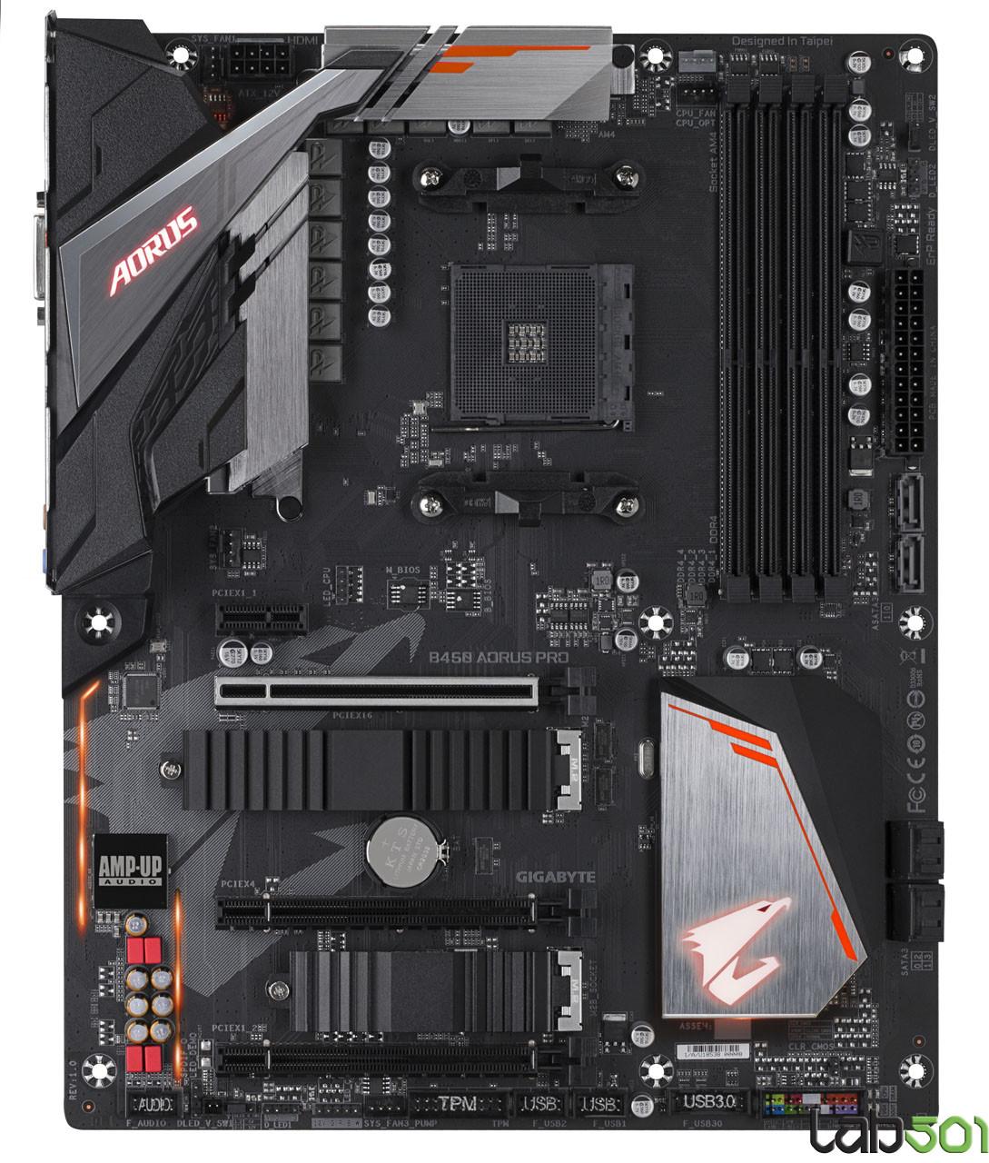 Gigabyte Readies A Pair Of Aorus Branded Amd B450 Motherboards Techpowerup