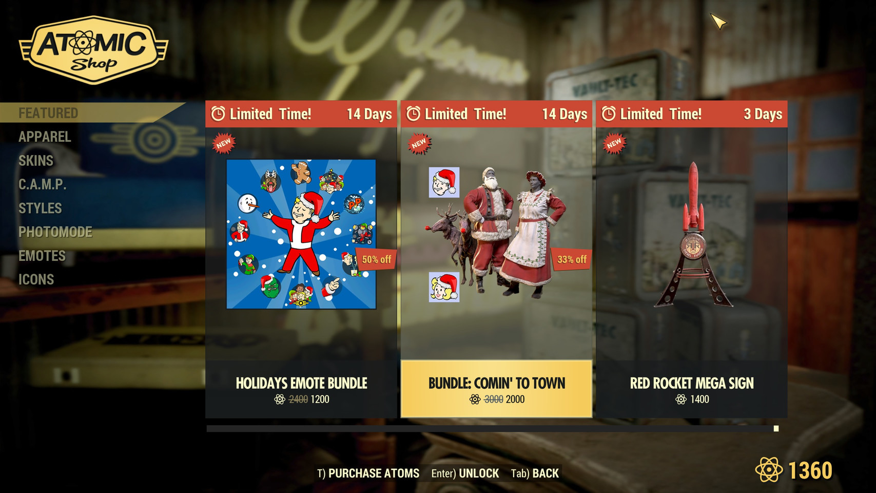 Fallout 76: Atom Shop Prices Reach New Level of Absurdity
