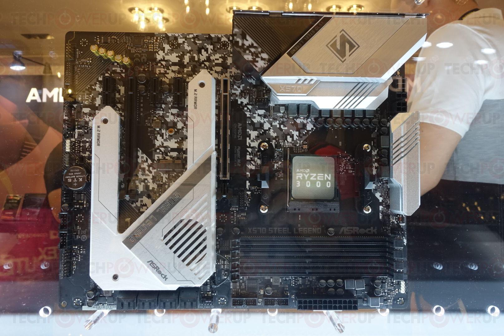 AMD Showcases Several Premium X570 Motherboards for Ryzen 3000 Zen2
