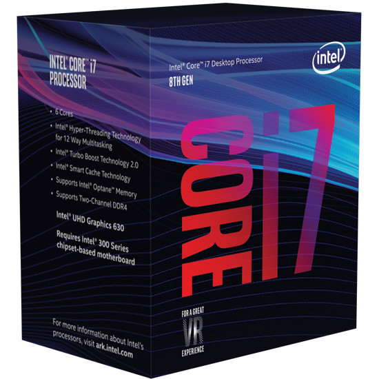 Intel 8th Gen Core i5 and Core i7 Retail Boxes Pictured | TechPowerUp
