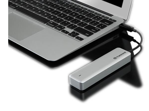 Transcend Reveals Their Sleek JetDrive 825 Thunderbolt PCIe Portable