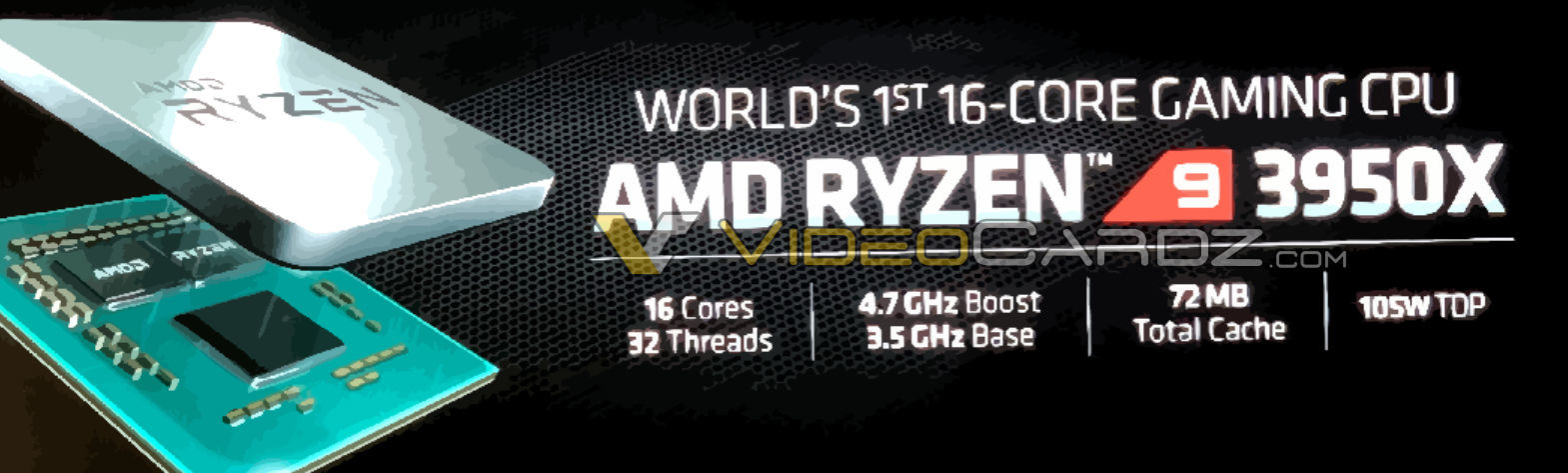 Amd Readies Ryzen 9 3950x 16 Core Processor To Awestrike Crowds At E3 Techpowerup