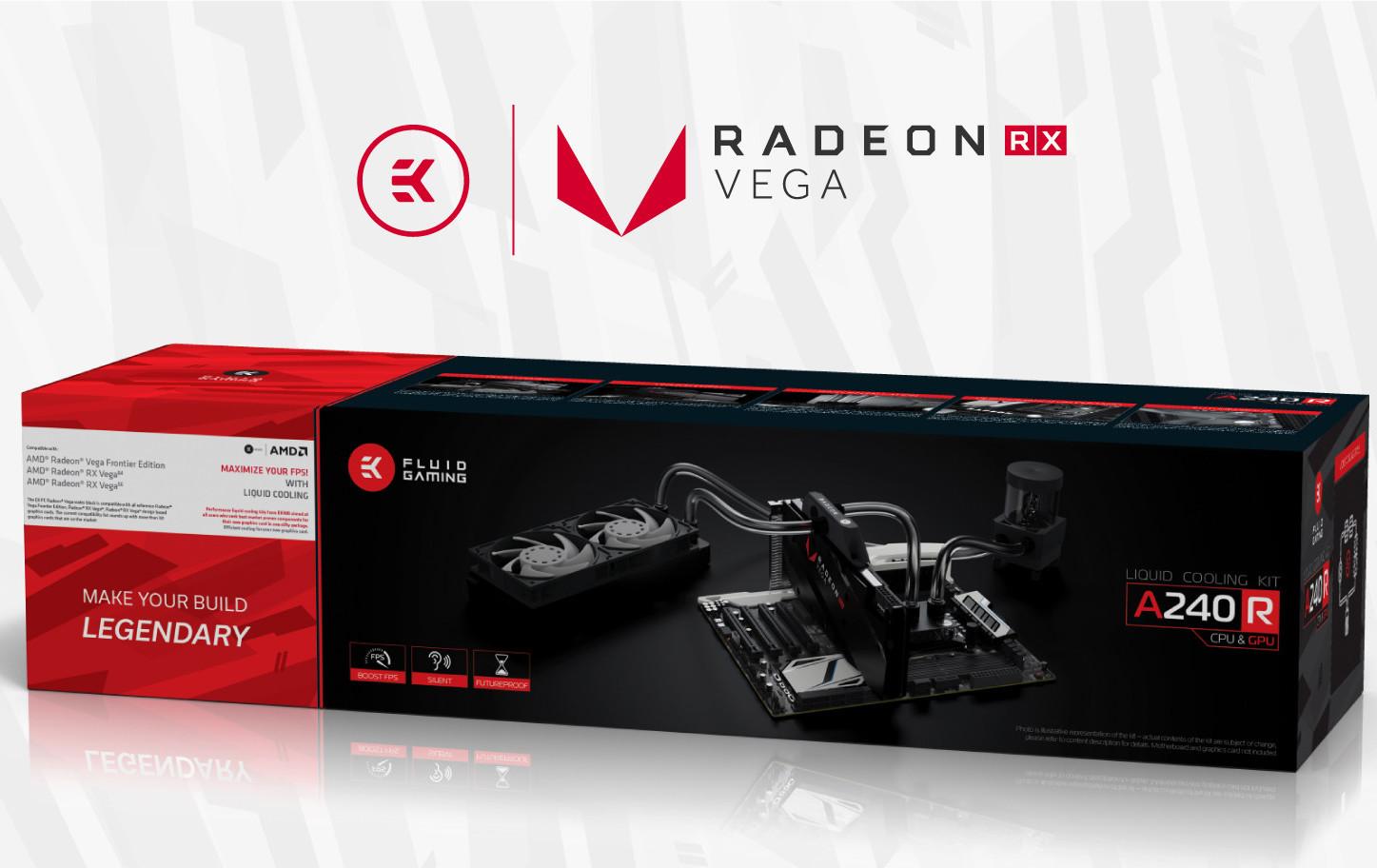 EK Water Blocks Announces Fluid Gaming A240R Kit | TechPowerUp