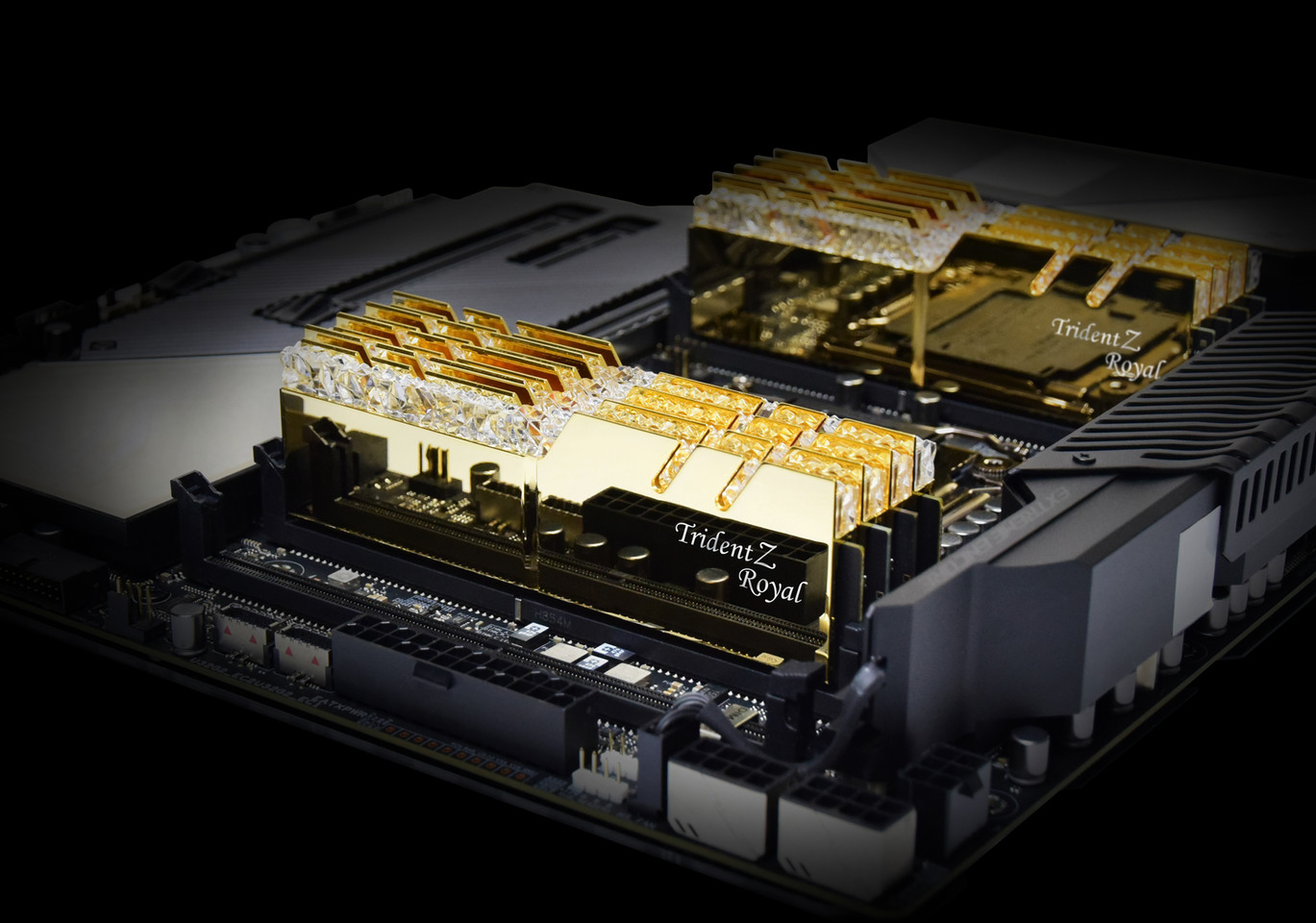 G Skill Releases 64GB (8GBx8) Memory Kits in DDR4-4300 CL19