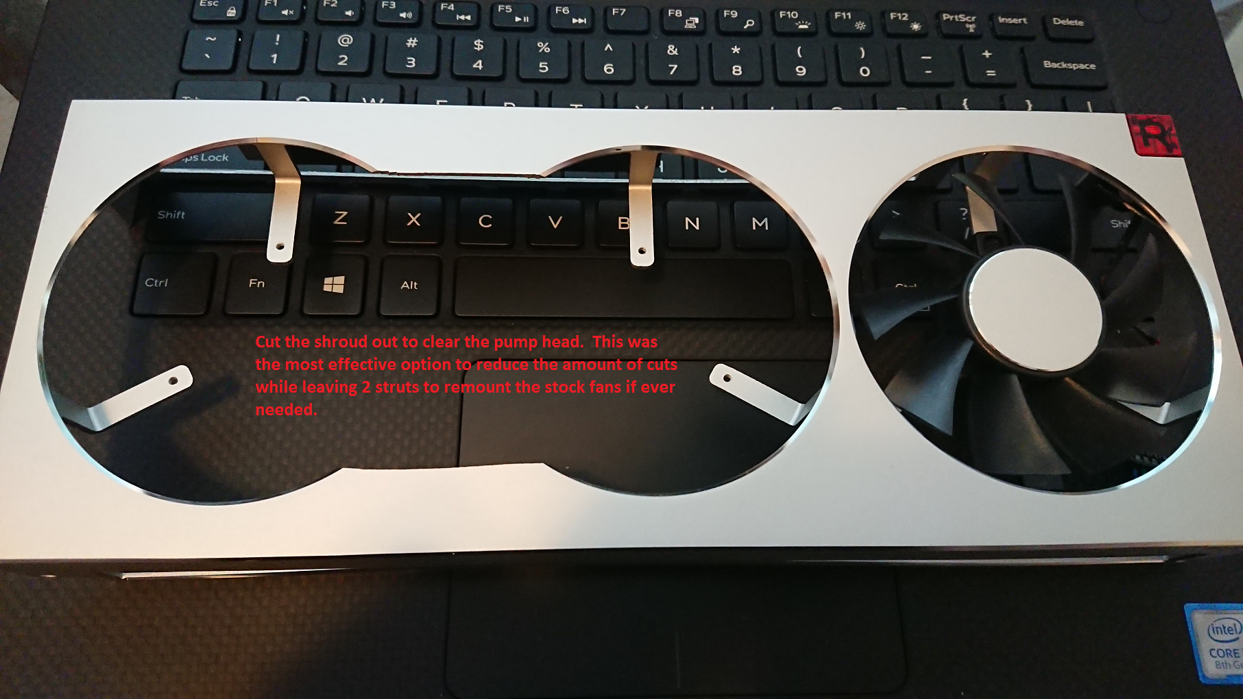 Modding a 2x 140 mm All-in-One CPU Watercooler onto the AMD Radeon