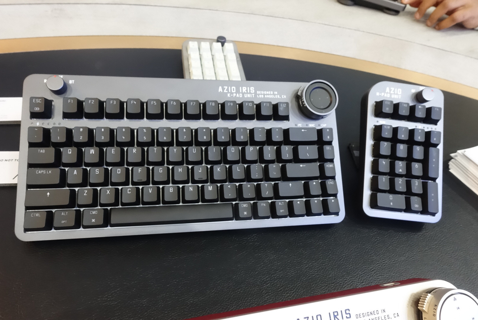 AZIO at COMPUTEX 2019: ALUMINUM Keyboard, Mouse and Number