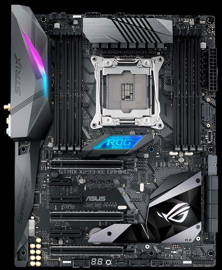 ASUS Intros ROG Strix X299-XE Gaming Motherboard | TechPowerUp