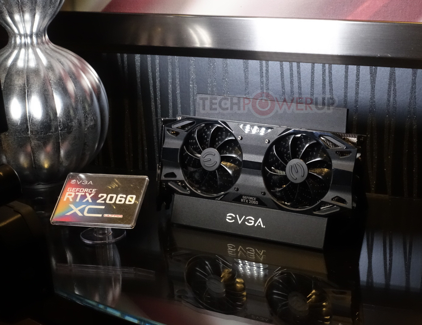 EVGA's RTX 2060 SC, XC, XC Ultra Make an Appearance at CES