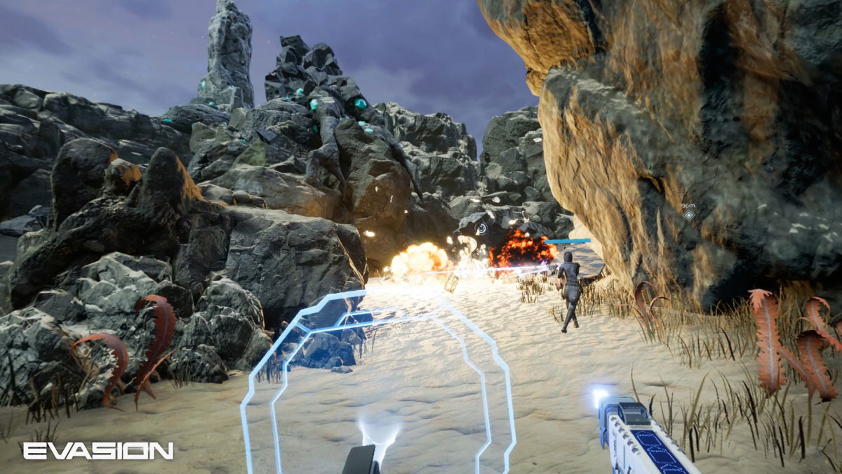 Archiact's Evasion Brings Intense Co-Op Multiplayer Combat
