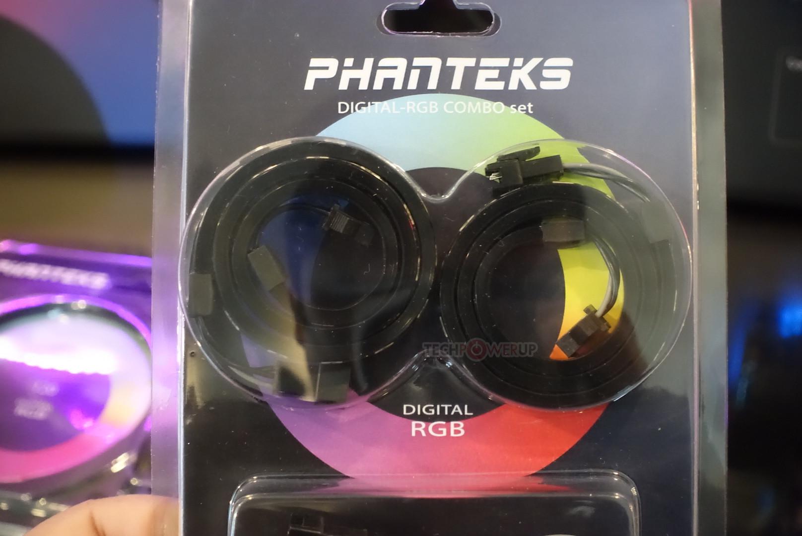 Phanteks' Four New RGB LED Products Dazzle | TechPowerUp