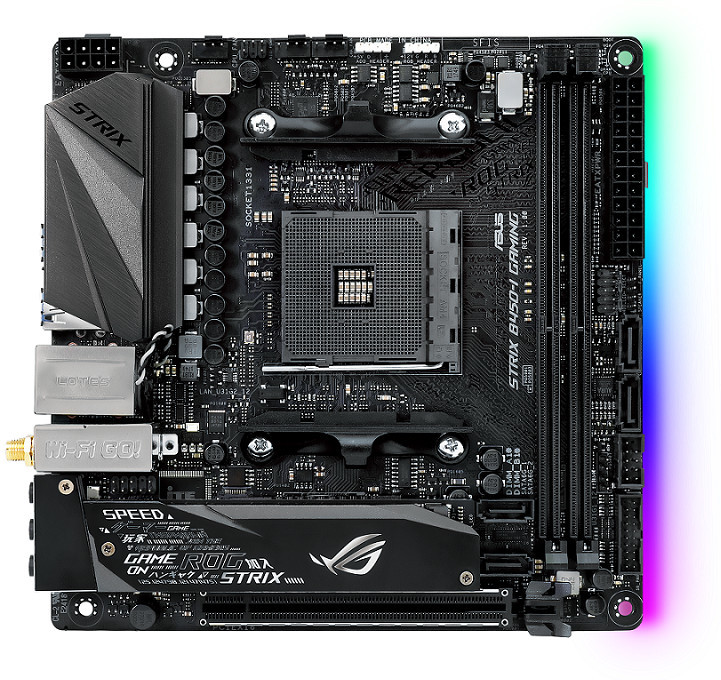 ASUS Launches AMD B450 Series Motherboards   TechPowerUp
