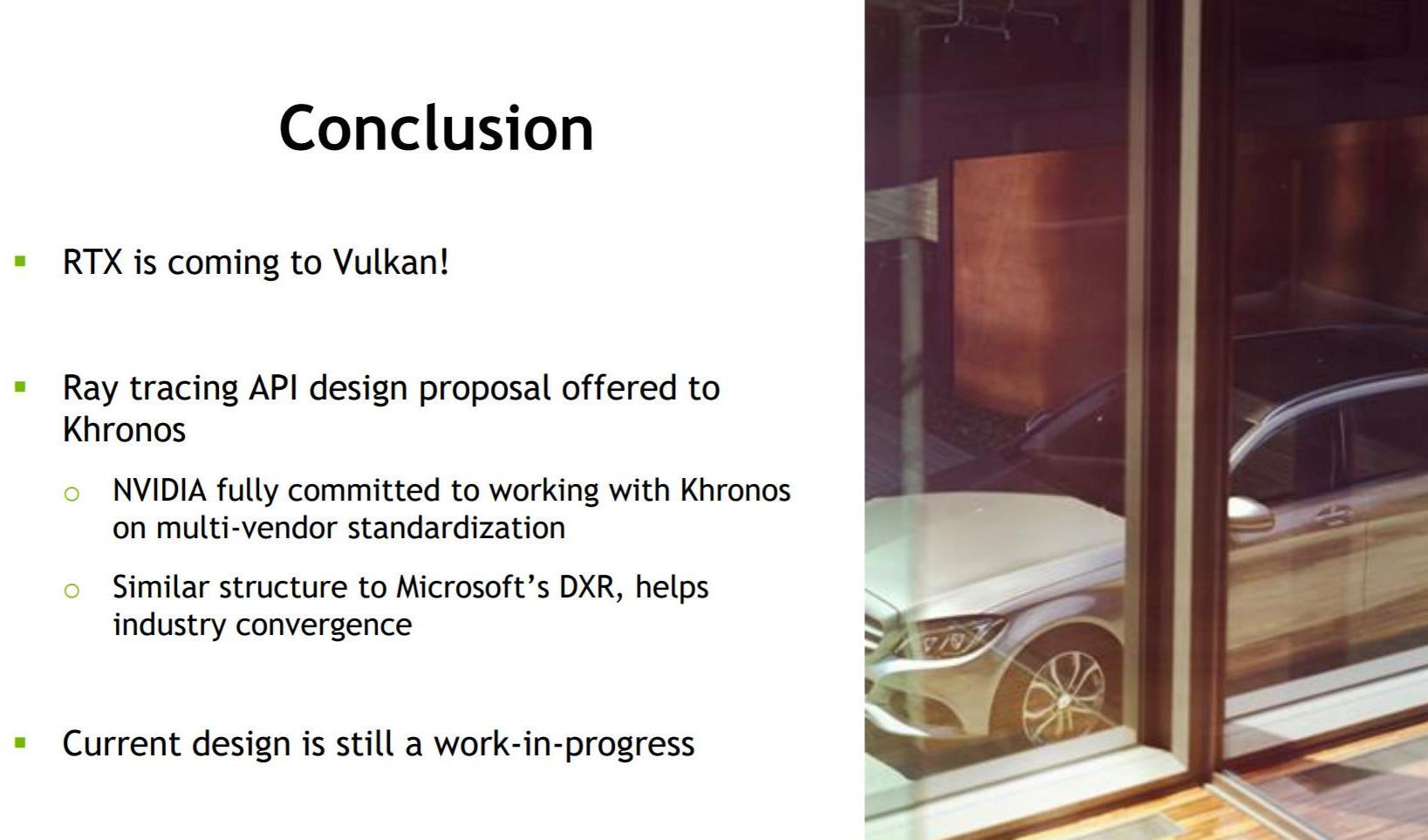 NVIDIA Adapting RTX Ray-tracing to Vulkan API | TechPowerUp