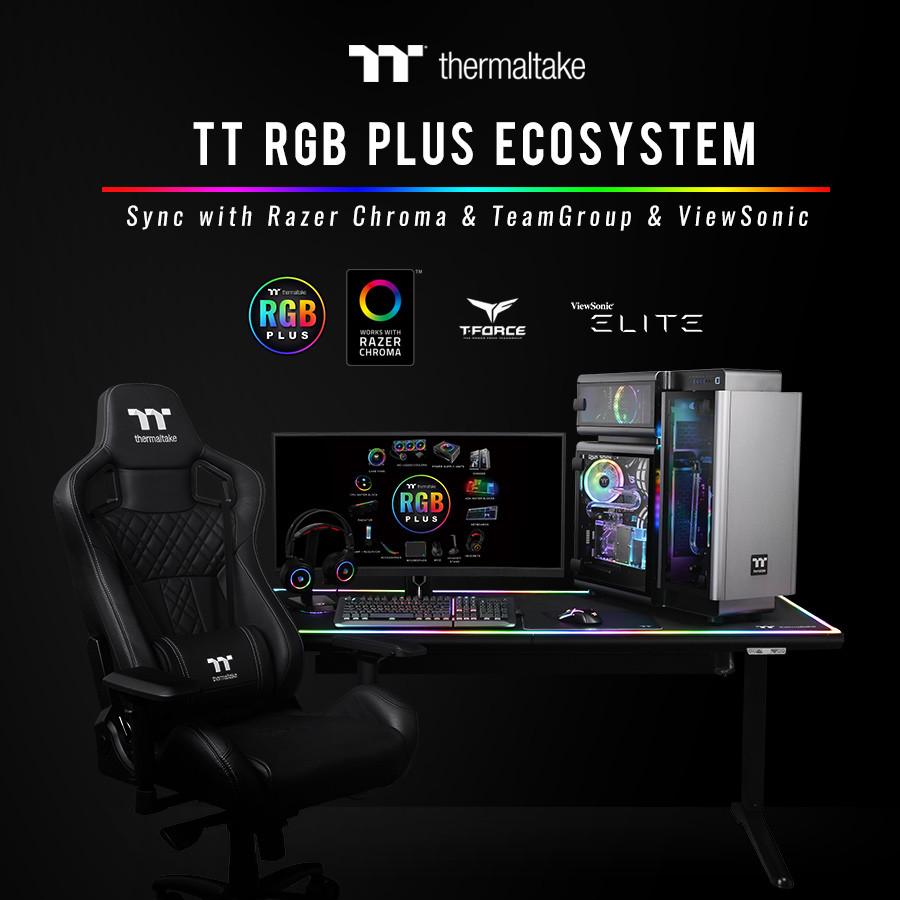 Thermaltake Announces TT RGB PLUS Partnership with Razer