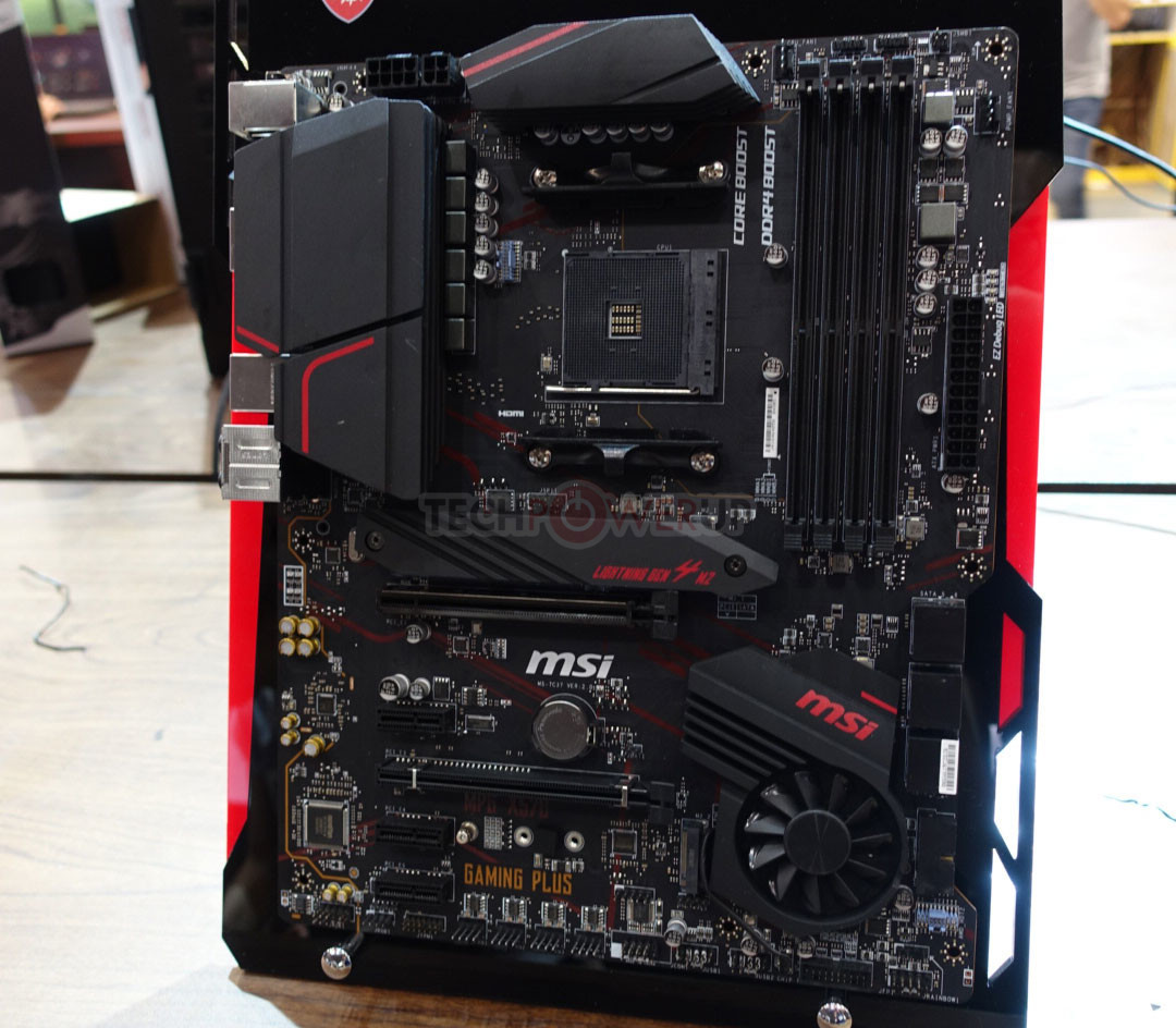 Four Premium MSI X570 Motherboards Pictured Up Close   TechPowerUp