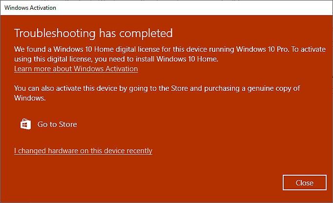 Microsoft Investigating Bug that Deactivates Windows 10 Pro Licenses