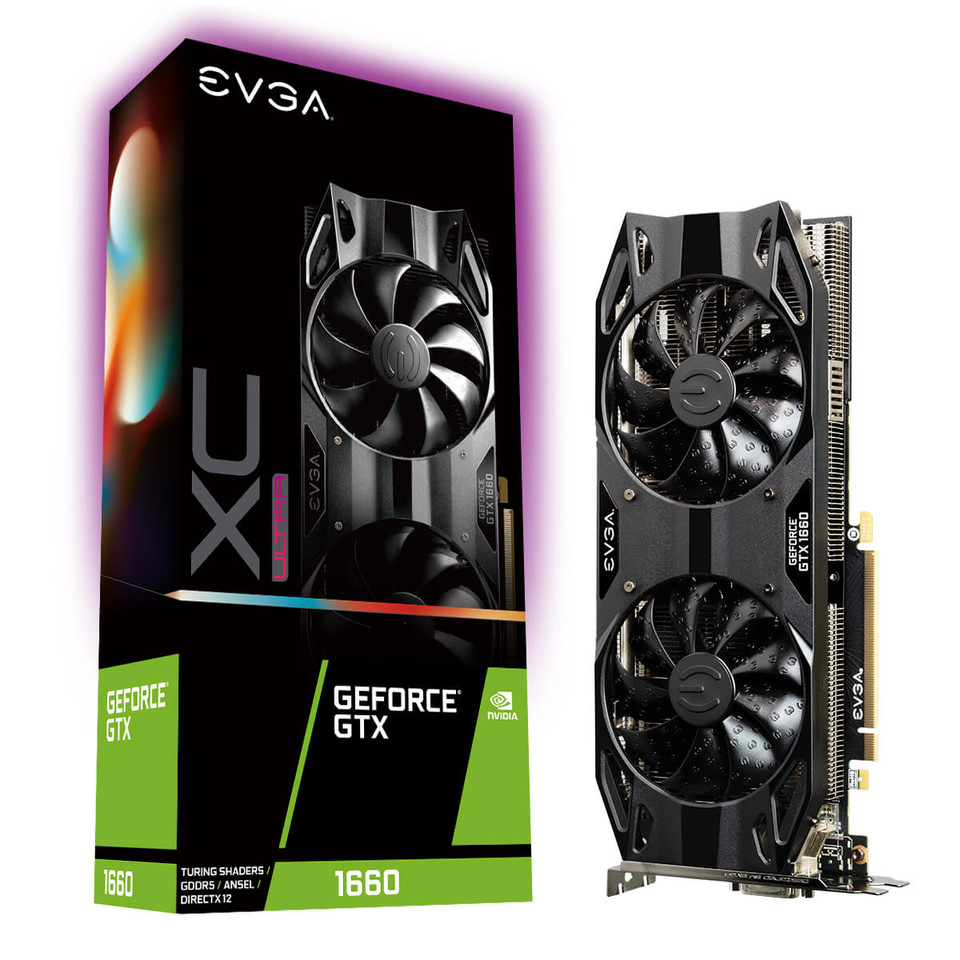 EVGA Rolls Out the GeForce GTX 1660 for Zero Compromise Gaming