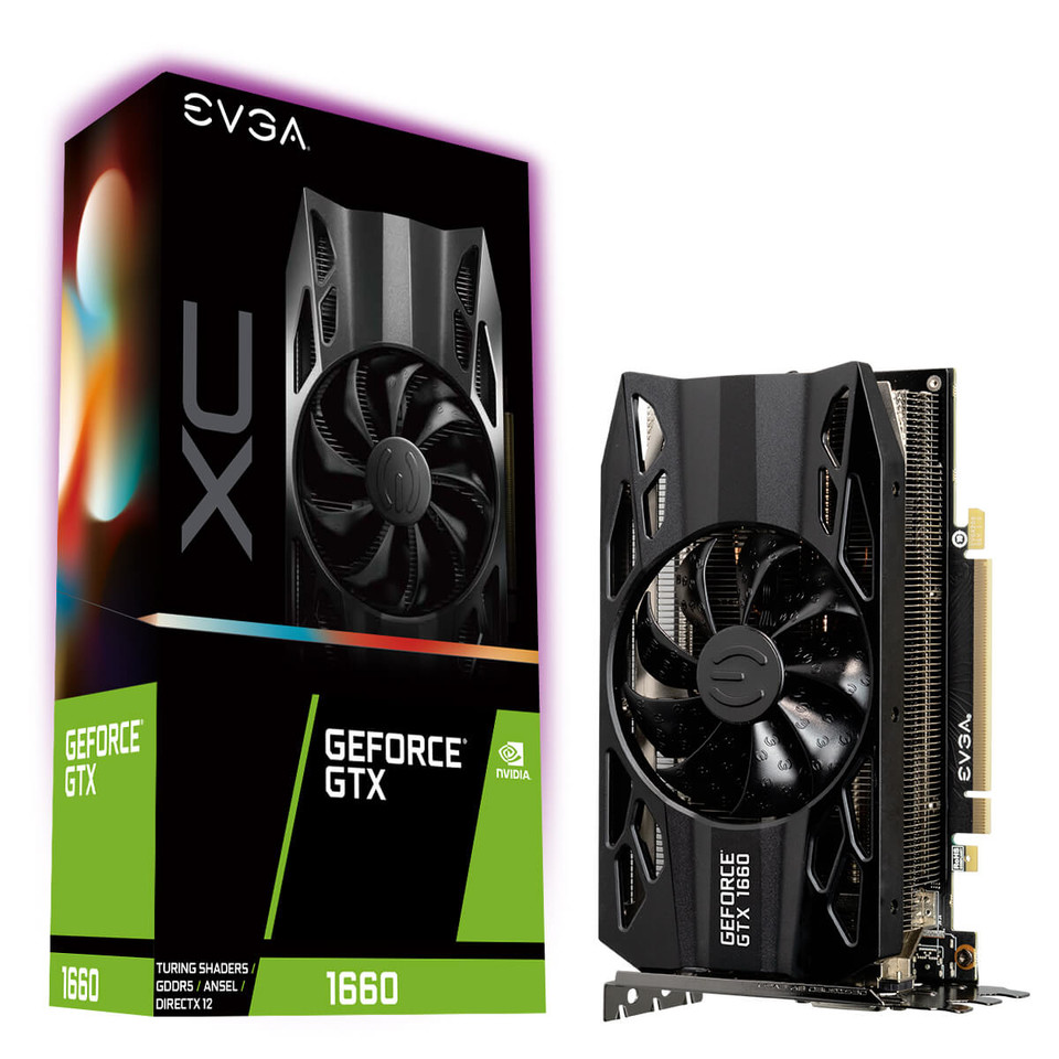 EVGA Rolls Out the GeForce GTX 1660 for Zero Compromise