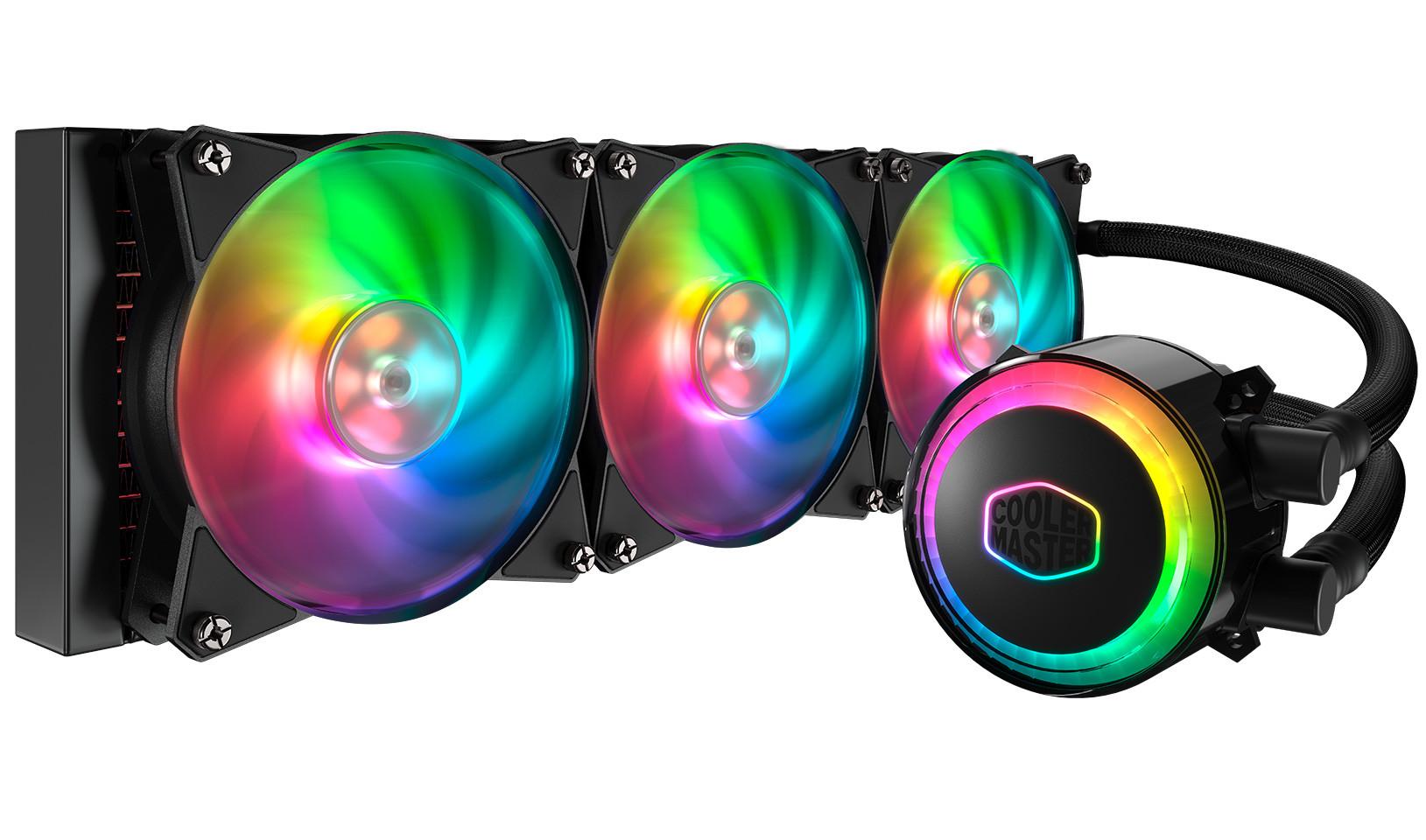 Cooler Master Announces the MasterLiquid ML360R RGB CPU Cooler