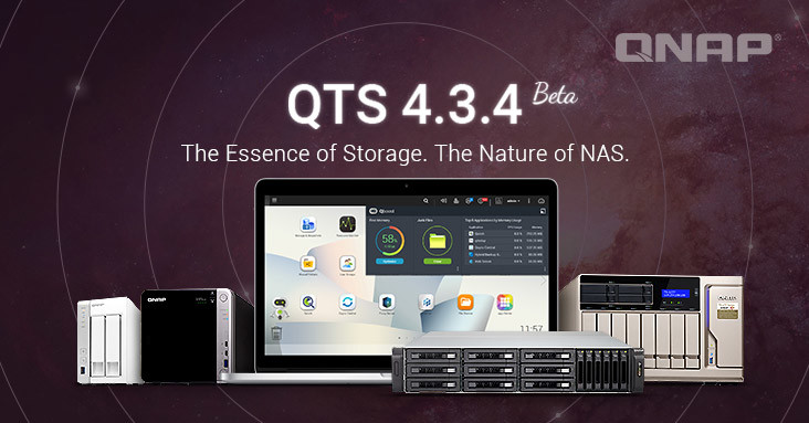 QNAP's QTS 4 3 4 Beta Brings Major Changes for x86-based NAS