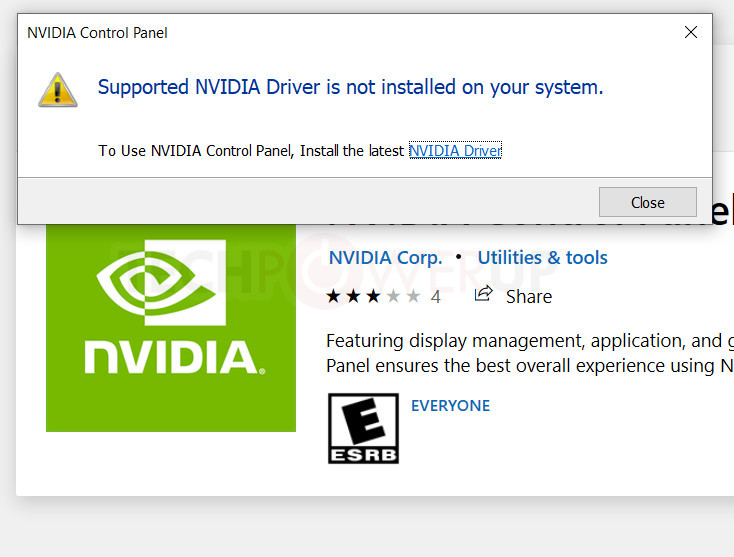 cant update my nvidia driver