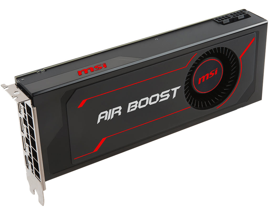 Msi Intros Radeon Rx Vega 56 Air Boost Graphics Cards Techpowerup