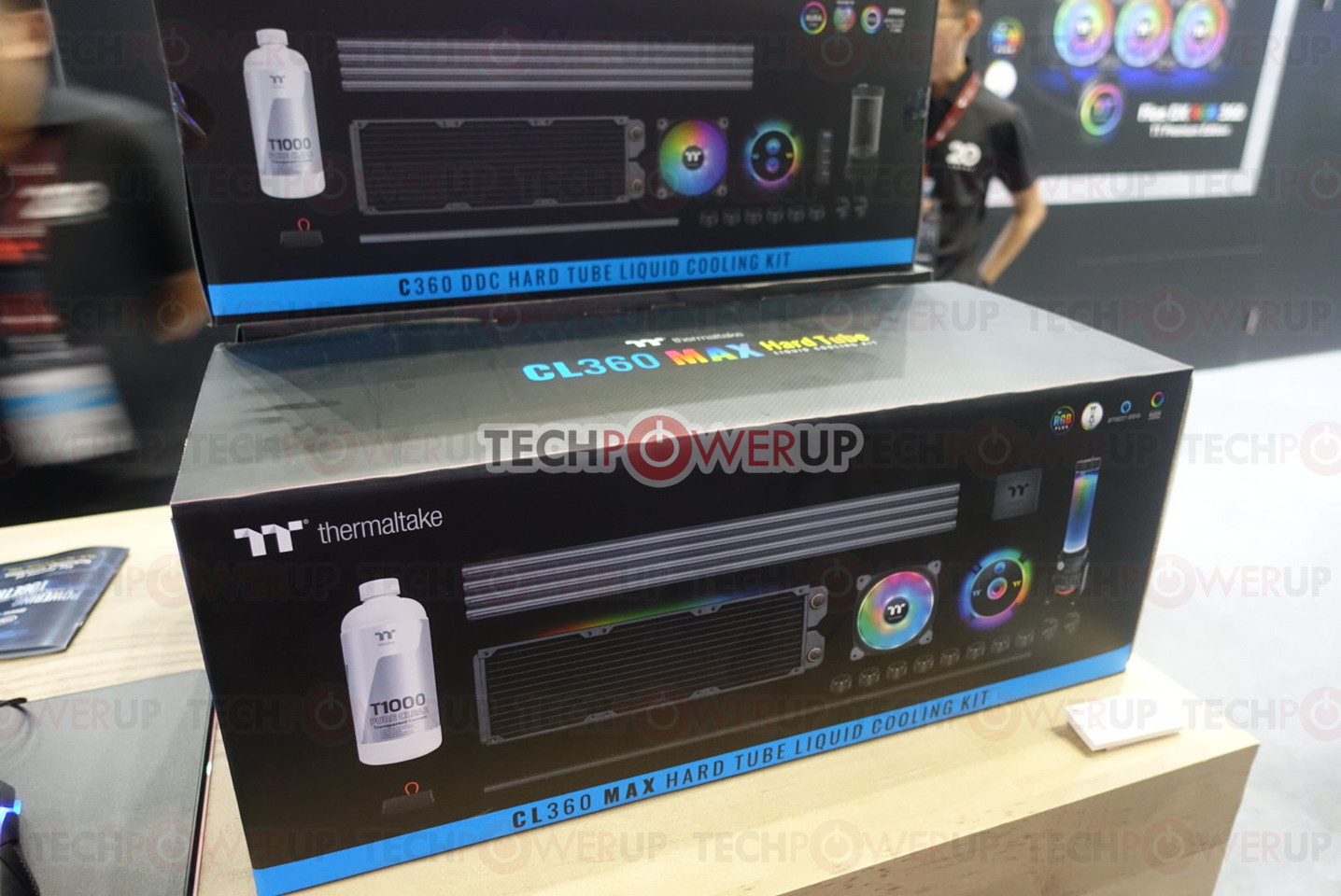 Thermaltake Launches Pacific CL360 Max D5 Hard Tube Water