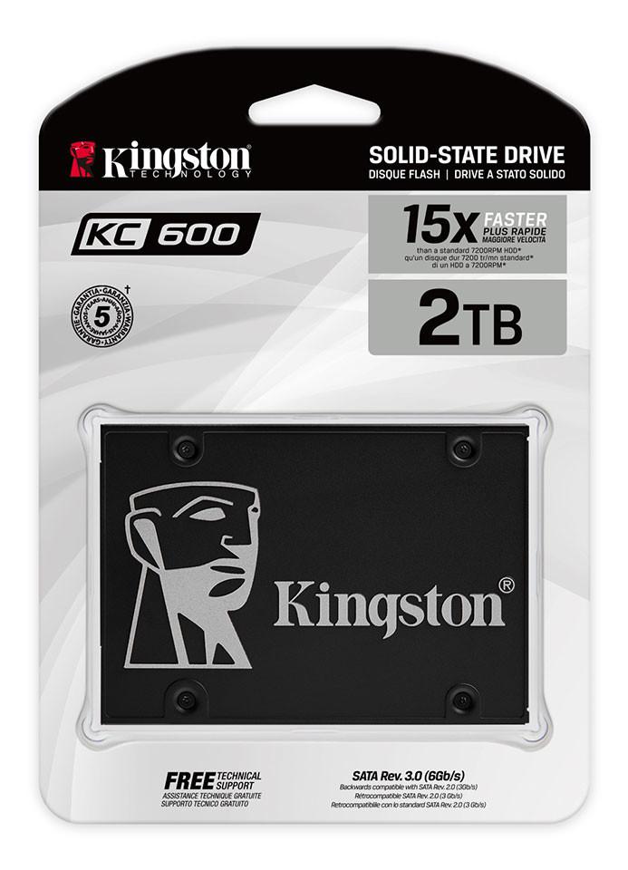 Kingston حافظه SSD جدید KC600 را معرفی کرد