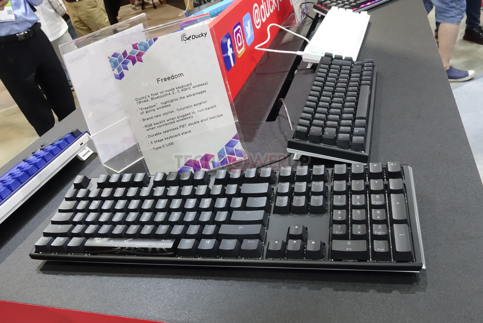 Ducky Brings a Flock of New Mechanical Keyboards to Computex