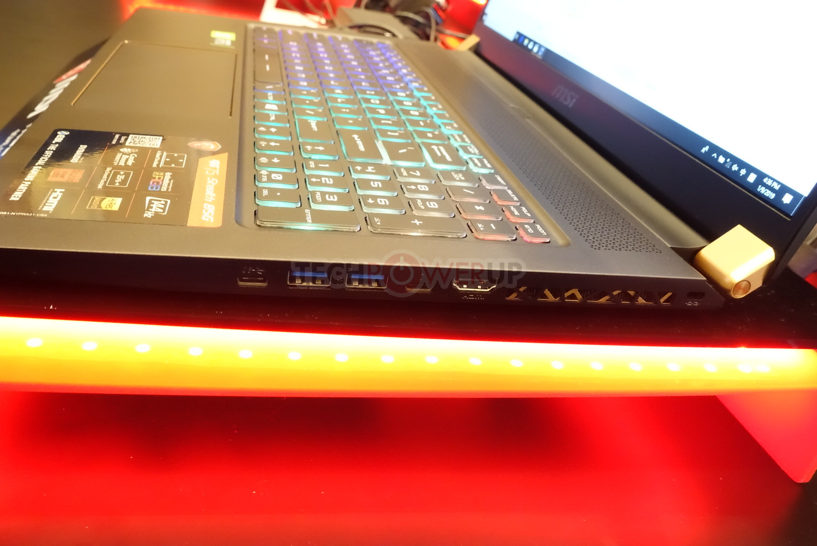 MSI Shows Off GS75 Stealth and GE75 Raider Among Other Notebooks at