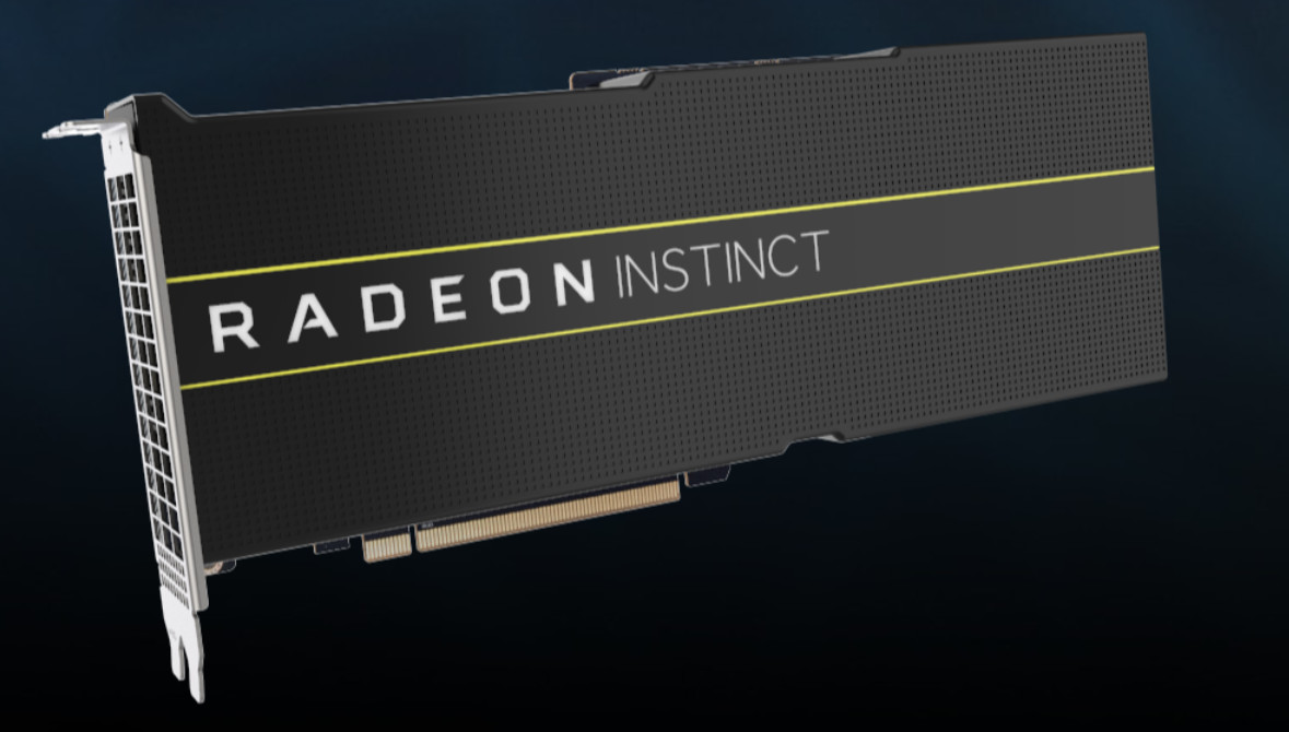 AMD Unveils World's First 7 nm GPUs - Radeon Instinct MI60