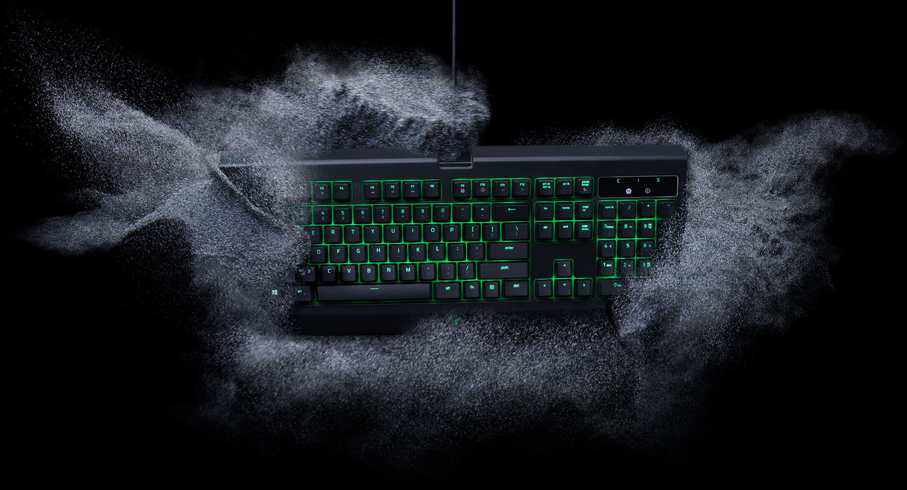 Razer Upgrades the BlackWidow Ultimate with Water and Dust