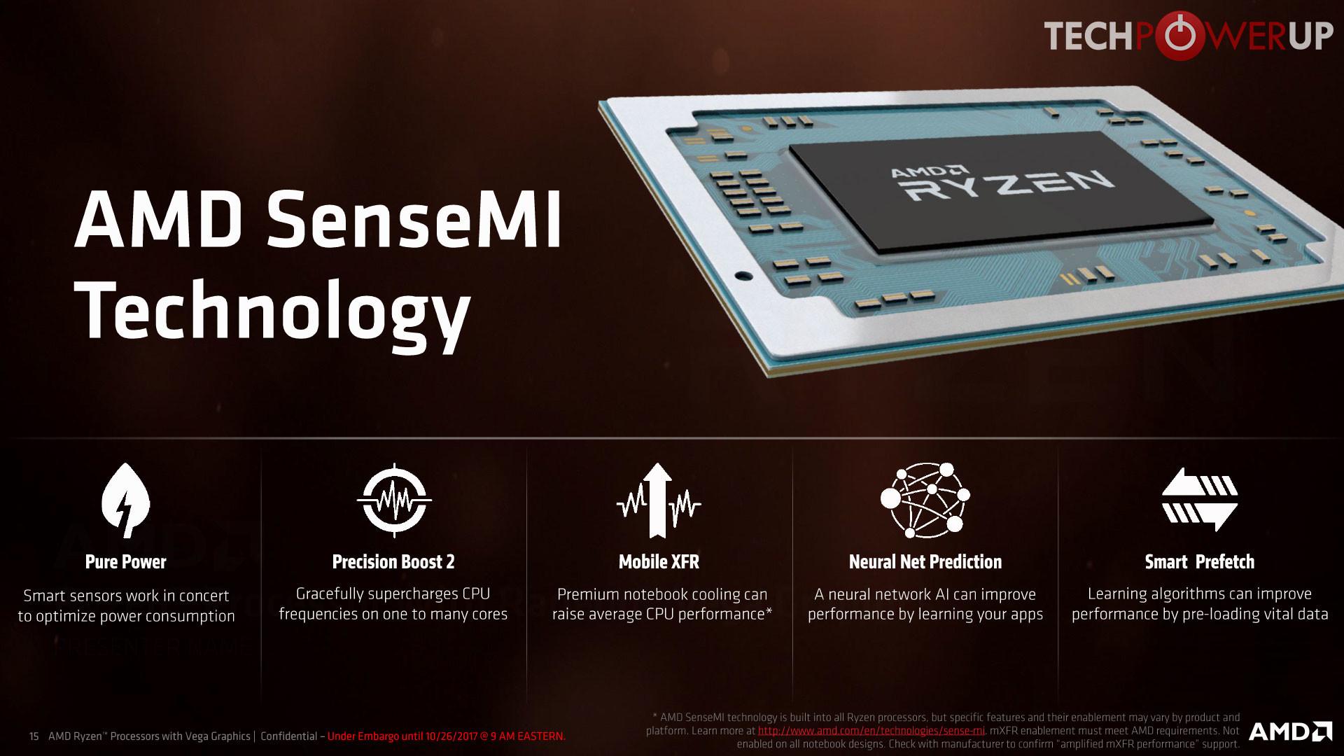 AMD Introduces New Ryzen Mobile Processors   TechPowerUp